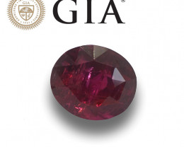 GIA Natural Unheated Pigeons's Blood Ruby|Loose Gemstone|New