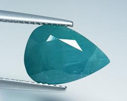 "5.10 ct "" Rare Gemstone "" Pear Cut Natural Grandidierite"