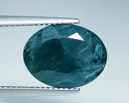 "5.65  ct "" Rare Gemstone "" Oval Cut Natural Grandidierite"