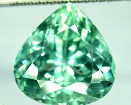 NR 41.25 cts Green Spodumene Gemstone