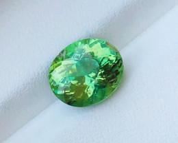 3 Ct Natural Greenish Transparent Tourmaline Gemstones