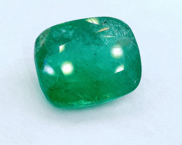 IGI Certified 7.26cts Colombian  Emerald , 100% Natural Gemstone