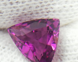 1.40 Carat Grape Garnet / Pink Garnet Triangle Shape from Tanzania