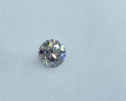 0.17ct  H-I1 Diamond , 100% Natural Untreated