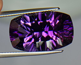 15.15cts, Amethyst, Concave Cut, GIANT stone