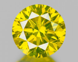 0.36 CT DIAMOND WITH SPARKLING LUSTER GEMSTONE DY5