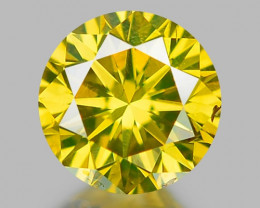 0.35 CT DIAMOND WITH SPARKLING LUSTER GEMSTONE DY8