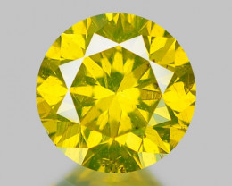 0.32 CT DIAMOND WITH SPARKLING LUSTER GEMSTONE DY10