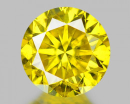 0.35 CT DIAMOND WITH SPARKLING LUSTER GEMSTONE DY11