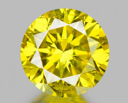 0.33 CT DIAMOND WITH SPARKLING LUSTER GEMSTONE DY12