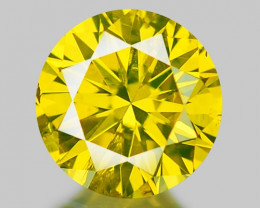 0.32 CT DIAMOND WITH SPARKLING LUSTER GEMSTONE DY13