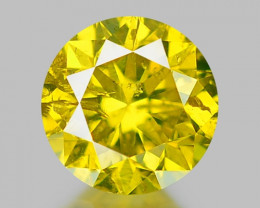 0.31 CT DIAMOND WITH SPARKLING LUSTER GEMSTONE DY15