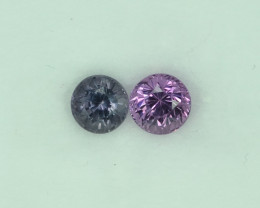 1.63 Cts Stunning Lustrous Burmese Spinel Pair