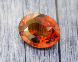 Hessonite Garnet 5.06 Ct. Natural Untreated (00649)