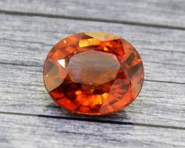 Hessonite Garnet 4.70 Ct. Natural Untreated (00655)