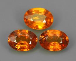 2.70 Cts~Natural Shocking Orange Fanta Spessartite Garnet Namibia, Amazing~
