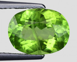 3.11 Ct Natural Peridot Excellent Color and Luster Gemstone P5
