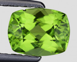 1.60 Ct Natural Peridot Excellent Color and Luster Gemstone P21