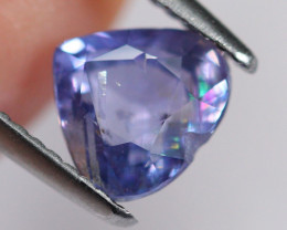 2.27cts Natural UNHEATED Purple Violet Sapphire AA158