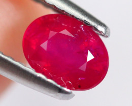 1.04cts Natural UNHEATED Red Ruby AA159