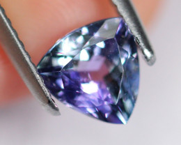 1.13cts Natural Violet Blue D Block Tanzanite / DD90
