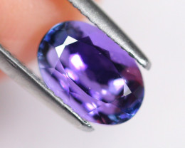 2.57cts Natural Violet Blue D Block Tanzanite / DD95