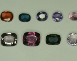 18.65 ct NATURAL SPINEL LOT FROM TAJIKISTAN