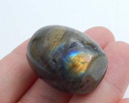 Beautiful Cabochon ,Handmade Gemstone ,Labradorite ,flash Pendant C547