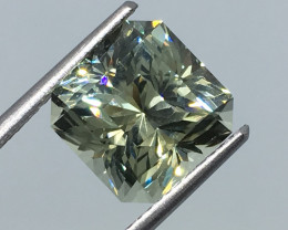 5.65 Carat IF CERT. Tourmaline Congolese Master Cut Flawless  Quality !