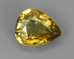2.90 CtS ATTRACTIVE ULTRA RARE NATURAL ZIRCON PEAR EXECLLENT!!
