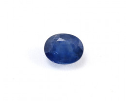 CERTIFIED 2.52ct BLUE SAPPHIRE - OVAL CUT
