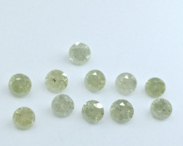 2.90ct Light Yellow Diamond Parcel, 100% Natural Untreated