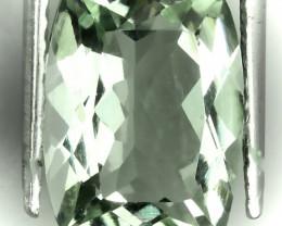 5.20ct Scintillating  Green Amethyst  (Prasiolite) -VVS No reserve