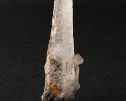 Quartz With Pyrite Gemstone Specimen 85x33x25mm TOP#1098
