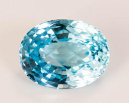 Topaz 14 x 10 mm 9.98 ct Brazil GPC Lab