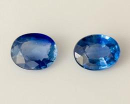 Blue Sapphire 5 x 4 mm 0.84 ct  Sri Lanka GPC Lab