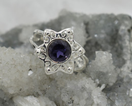 RING 925 STERLING SILVER NATURAL GEMSTONE JE1930