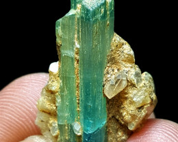 Amazing Bicolor  Tourmaline with Mica 30 Cts- Afghanistan