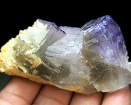 Damage free Natural color Fluorite cluster specimen 545Cts-Pakistan