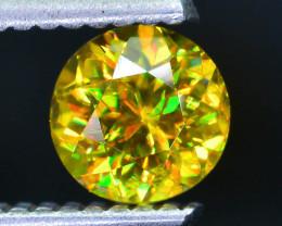 Rare AAA Fire 0.89 ct Malayaite Sphene Badakhshan Sku-38