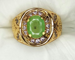 (Beryl) Natural Emerald Jewelry