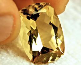 26.3 Carat IF/VVS1 Golden Andesine