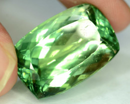 NR 36.55 cts Green Spodumene Gemstone