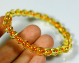 62.5Ct Natural Bright Citrine Bracelet