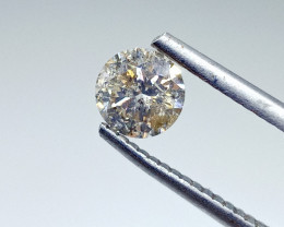 0.79ct L-I1  Diamond , 100% Natural Untreated
