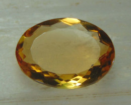 FLAWLESS SPARKLING NATURAL GOLDEN CITRINE 6.40 cts