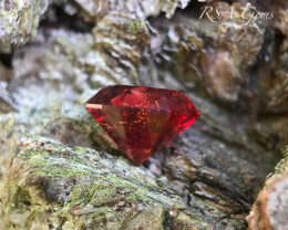 Deep Red Oregon Sunstone - 5.60 carats