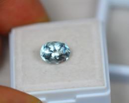 1.79Ct Blue Aquamarine Oval Cut Lot LZ2448