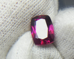 1.95 Carat Grape Garnet / purplish / Pink Garnet from Tanzania