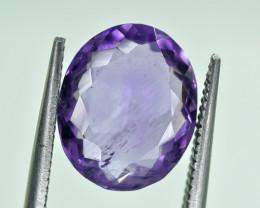 4.60 Crt Natural Amethyst Uruguay Faceted Gemstone.( AG 45)